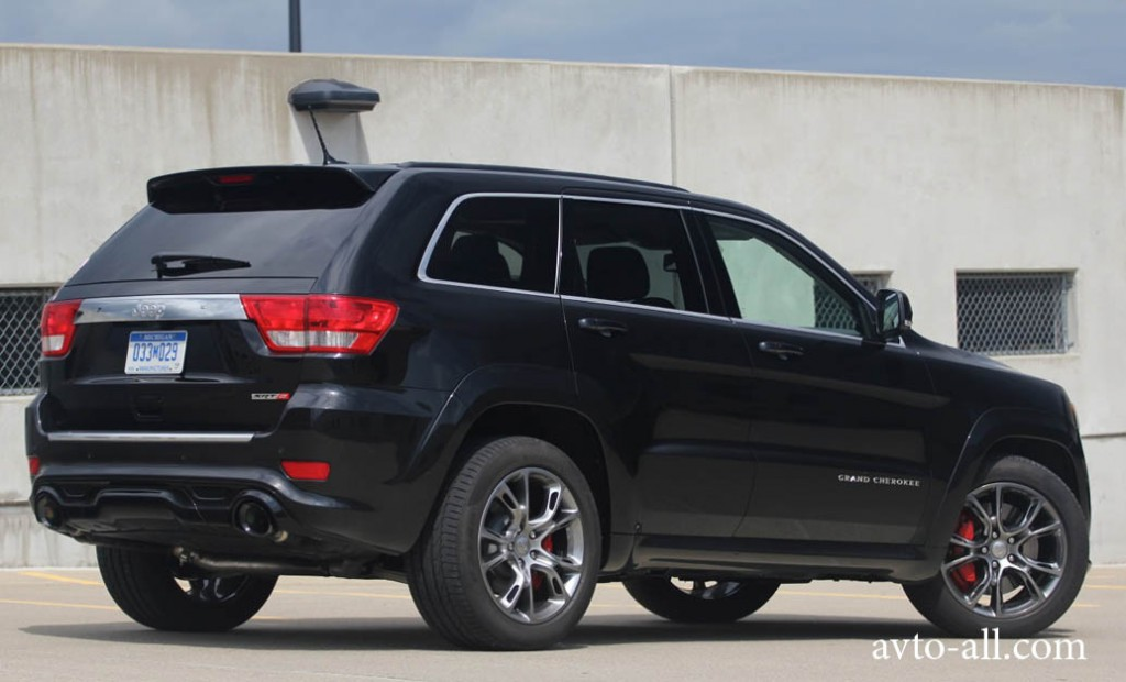 jeep grand cherokee srt8 цена