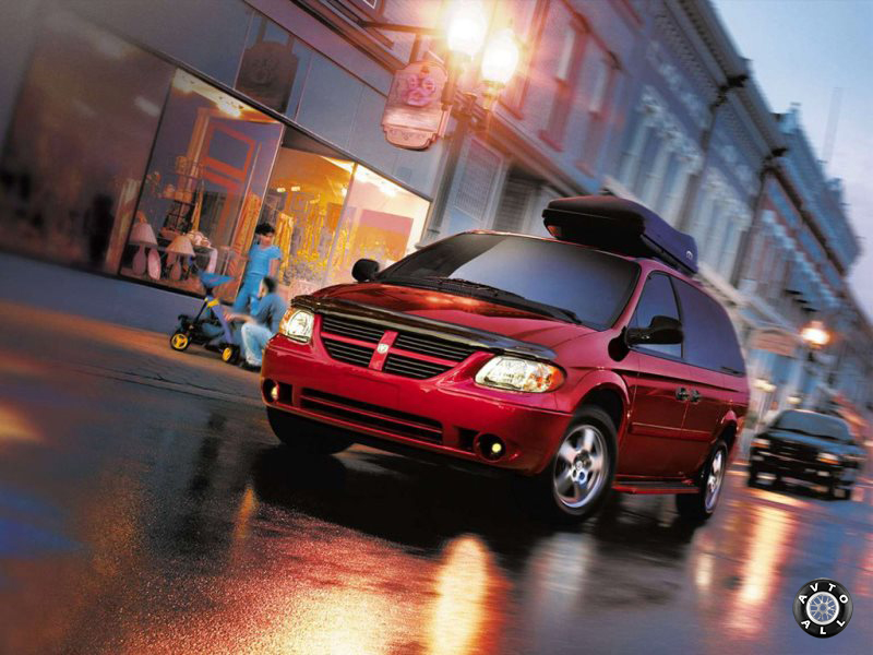 Видоизмененный Dodge Grand Caravan Minivan