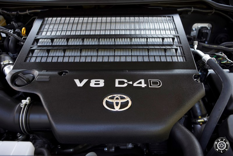 Toyota Land Cruiser 200 двигатель V8 engine