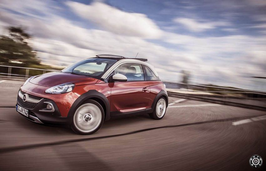 новый opel adam rocks