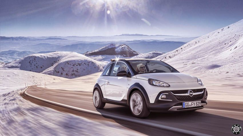 opel adam rocks фото