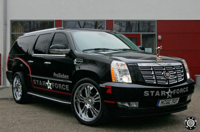 Cadillac Escalade Star Force тюнинг фото