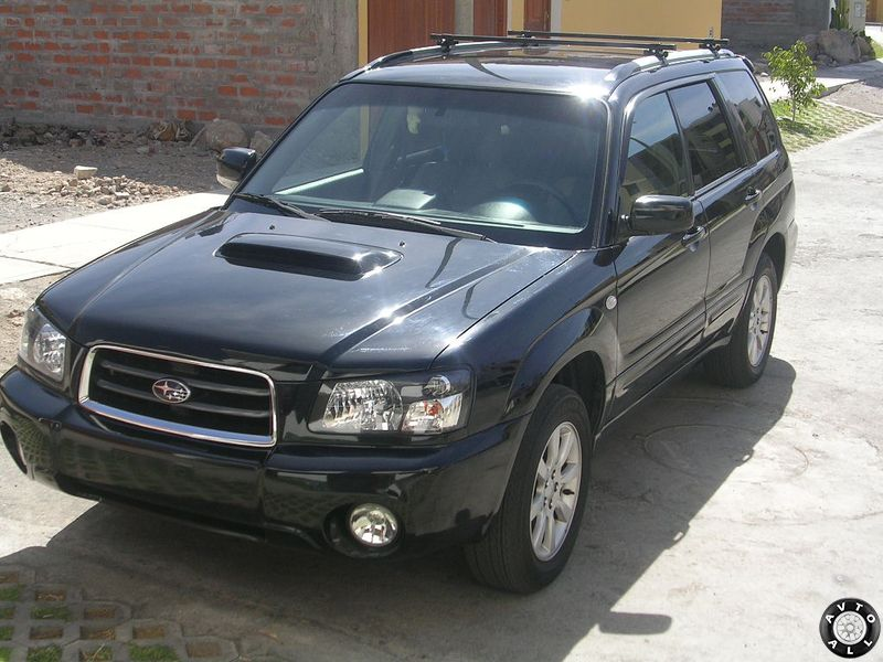 Subaru Forester Turbo 2004 года бу