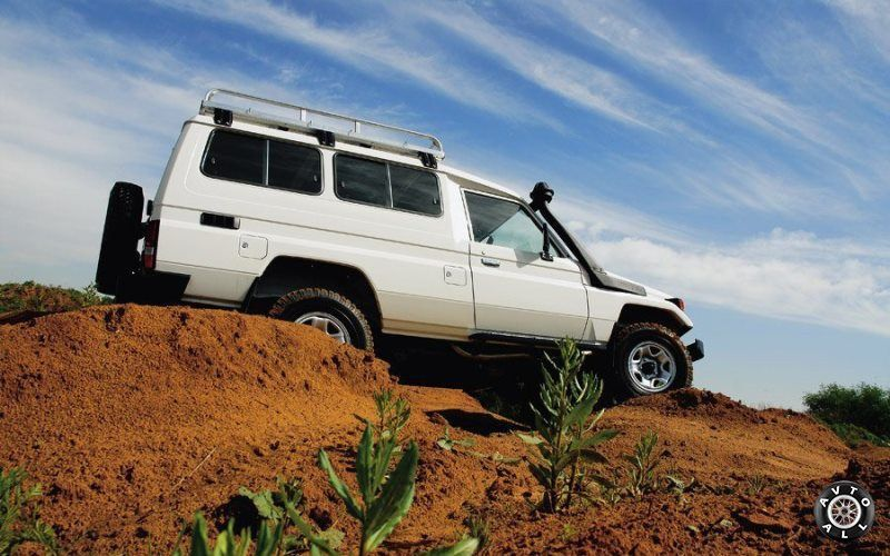 Toyota Land Cruiser для Африки бу