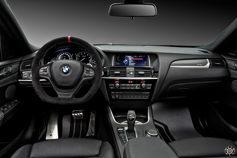 BMW X4 M Performance салон