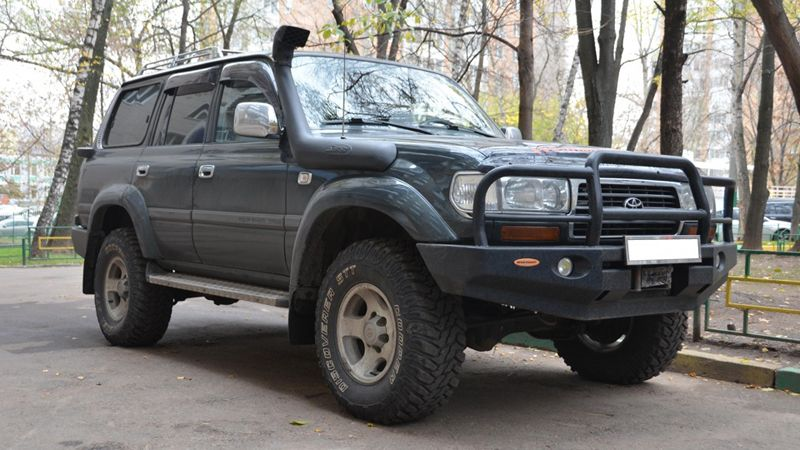toyota land cruiser 80 фото
