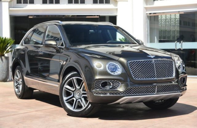 Автомобиль Bentley Bentayga W12