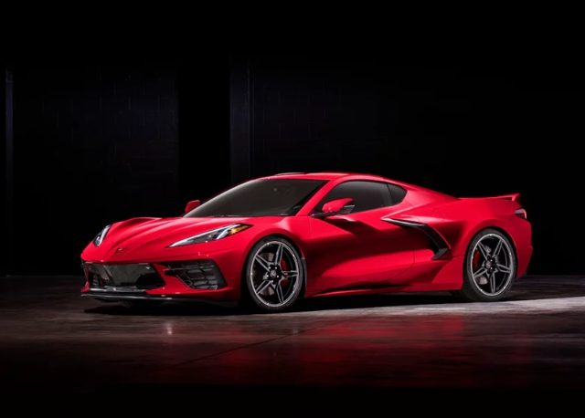 Спортивноре купе Chevrolet Corvette Stingray 2020