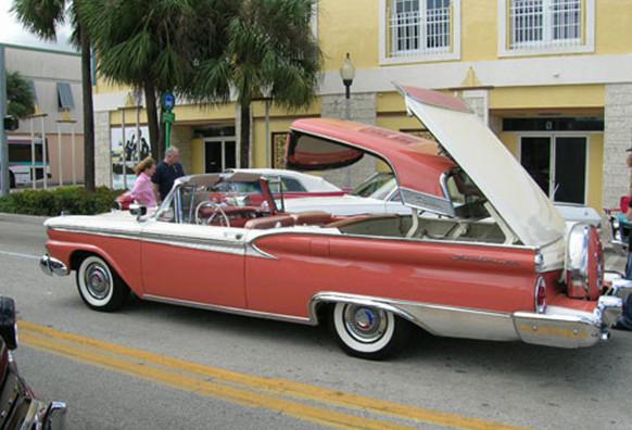 американские ретро автомобили фото