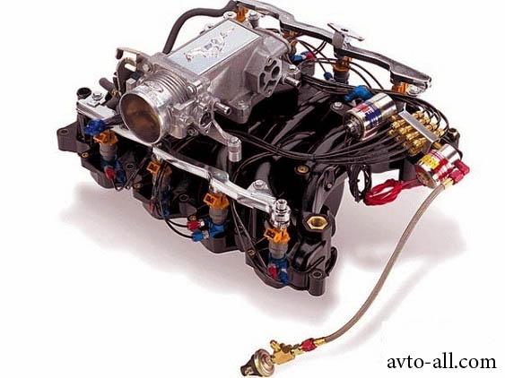 устройство системы питания двигателя