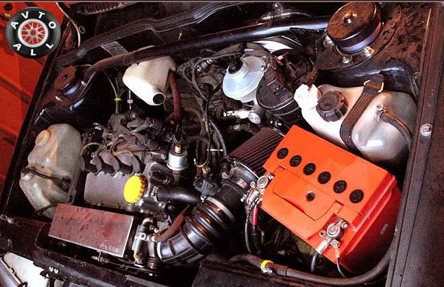 Ваз 2115 тюнинг двигателя