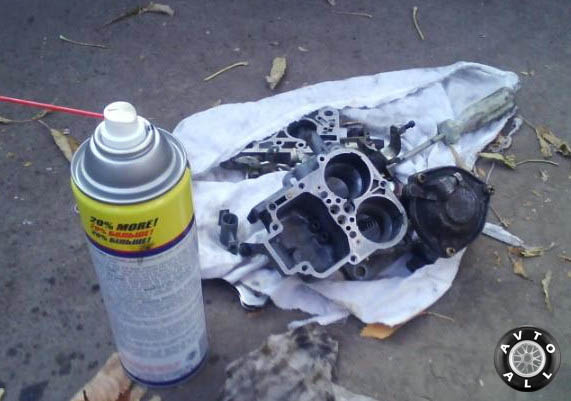 чистка карбюратора ваз 2108
