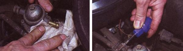 zamena benzonasosa vaz 2109 karbjurator - Толкатель бензонасоса ваз 2109 карбюратор