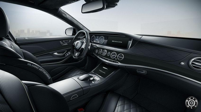 Mercedes S65 AMG w222 салон