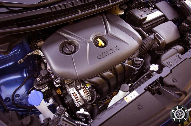 Киа Церато 2013 двигатель