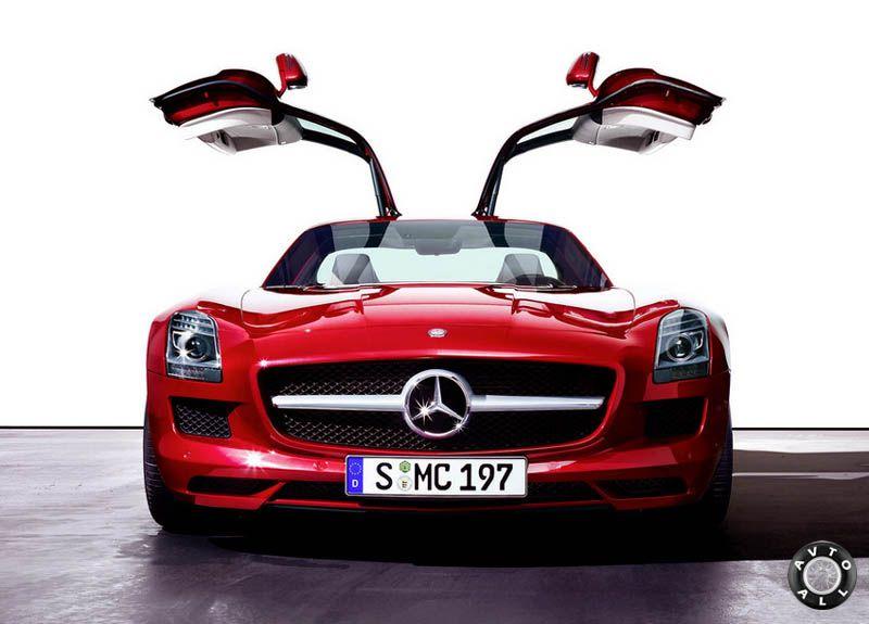 Mercedes SLS AMG цена