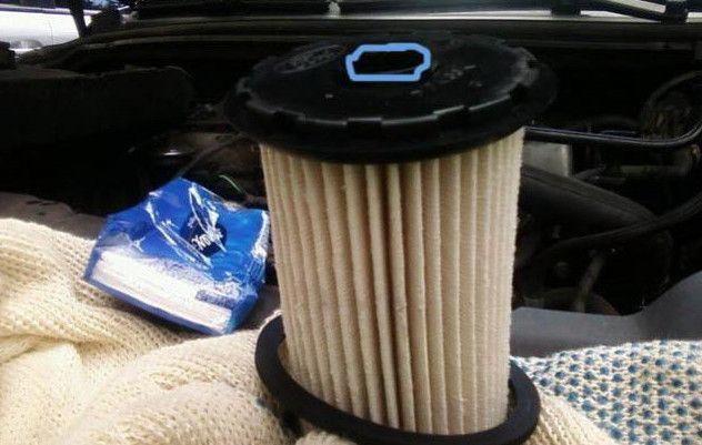 новый топливный фильтр Форд Фокус 2
