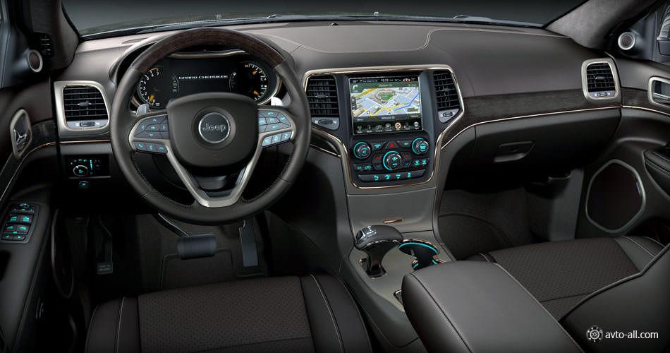 Jeep Grand Cherokee 2014 интерьер