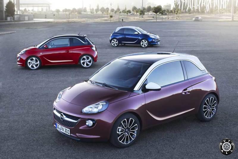 Автомобиль Opel Adam фото