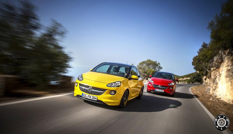 Новый Opel Adam