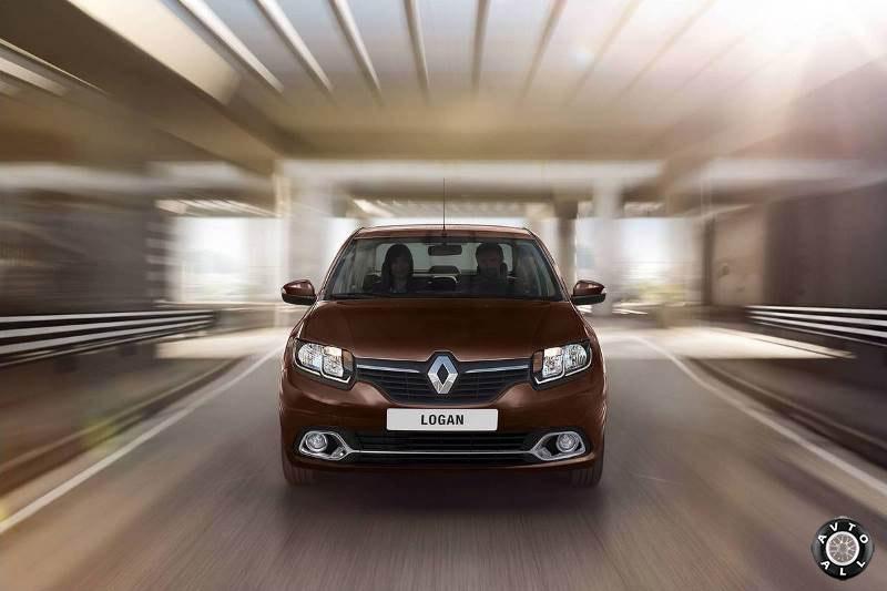 Новый автомобиль Renault Logan 2014