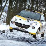 Opel Adam 2013 ралли
