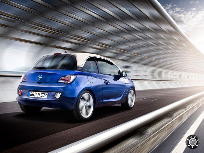 Opel Adam фото