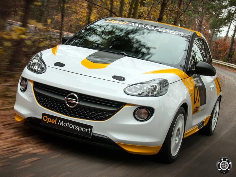 Opel Adam спортивный