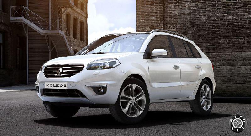 Дизайн Renault Koleos 2014