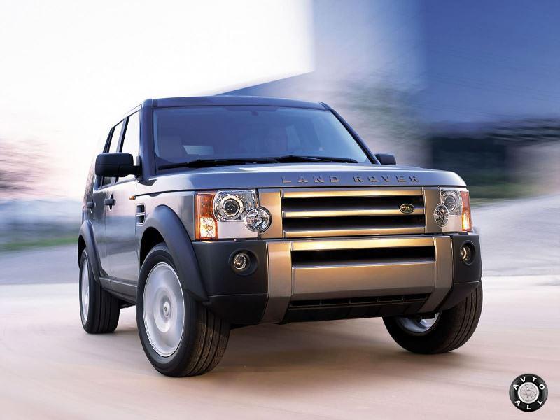 Land Rover Discovery 3 внешний вид