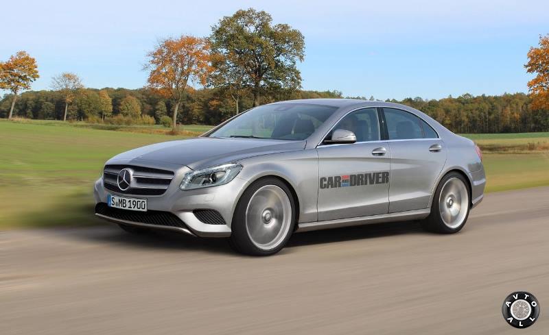 Mercedes Benz C сlass 2014 новинка фото