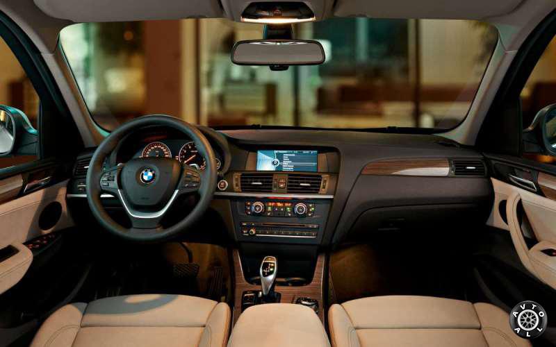 Рестайлинг салона BMW X3 2014