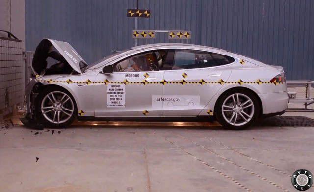 Безопасный автомобиль NHTSA