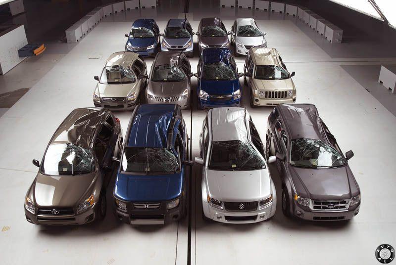 самые безопасные автомобили