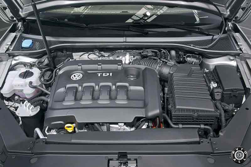 Двигатель Volkswagen Passat B8