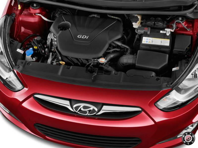Двигатель нового Hyundai Solaris