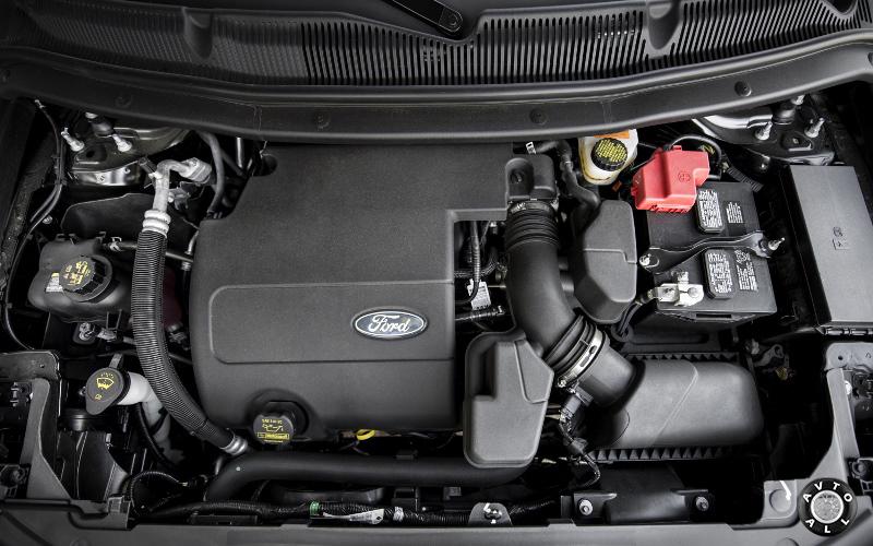 Ford Explorer 2014 двигатель