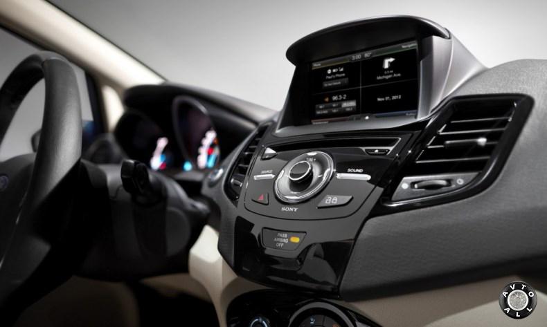 Ford Explorer 2014 интерьер