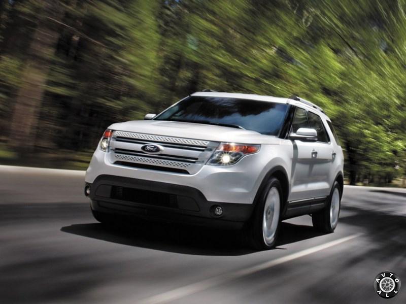 Ford Explorer 2014  на ходу