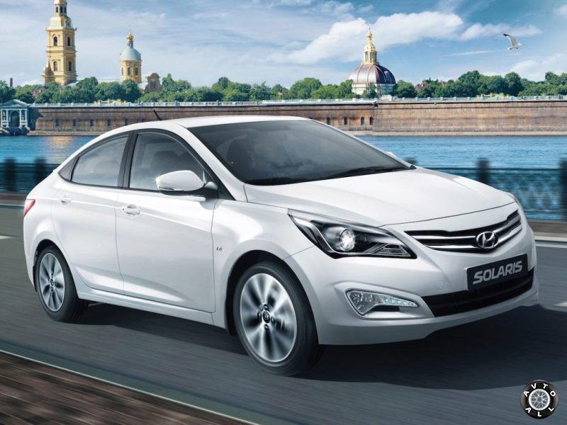 Hyundai Solaris в России