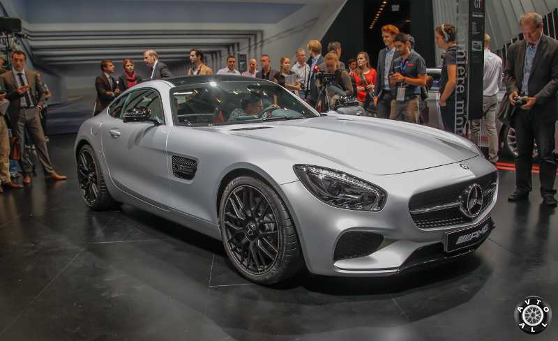 Mercedes amg gt фото