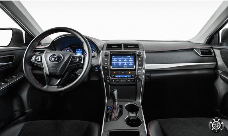 Новая Toyota Camry интерьер