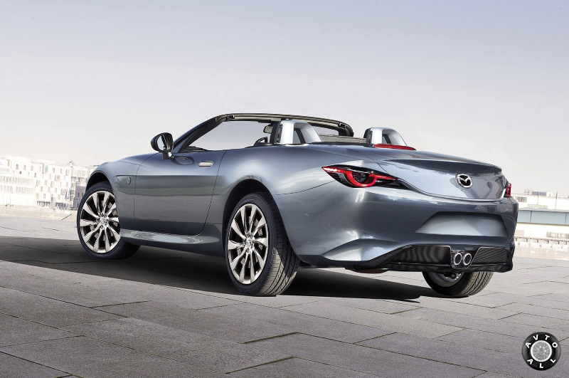 Новинка Mazda MX-5 2015 год