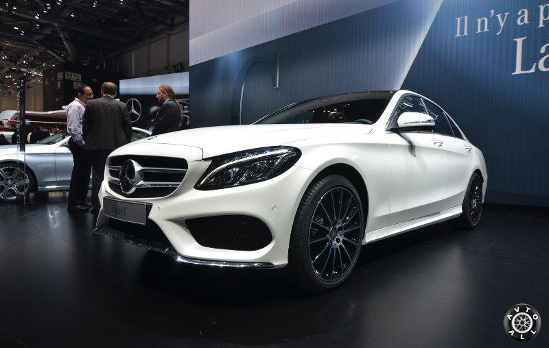 Новый Mercedes Benz C-class 2014