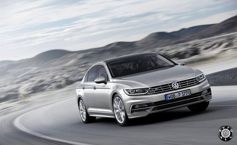 Новый автомобиль Volkswagen Passat B8