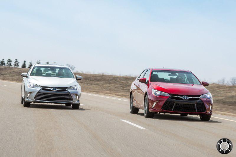 Обновленная версия Toyota Camry 2015