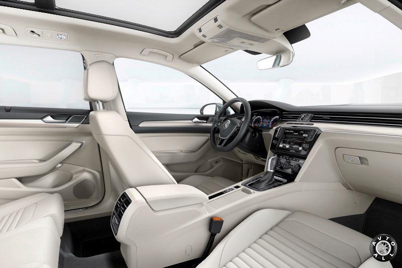 Салон Volkswagen Passat B8 фото