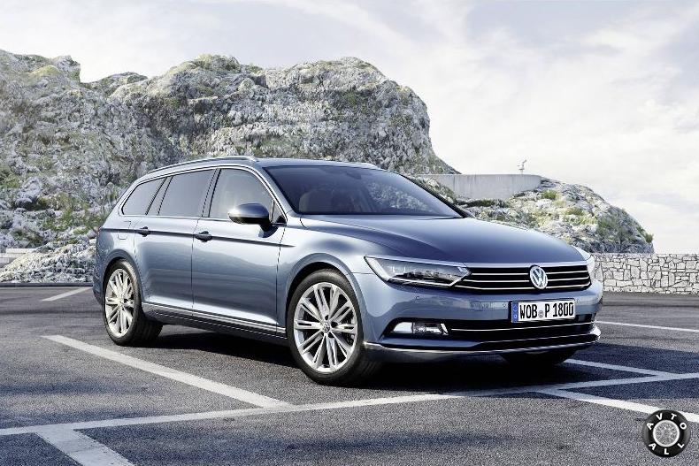 Универсал Volkswagen Passat B8