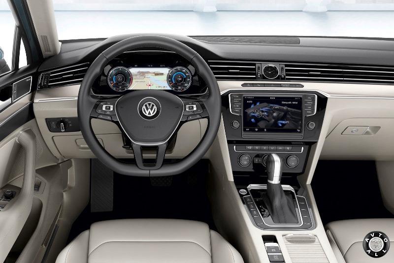 Внутренняя отделка Volkswagen Passat B8