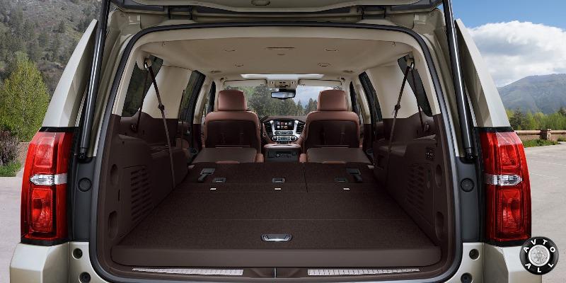 Багажник Chevrolet Suburban 2014